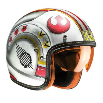 HJC FG-70S Star Wars X-Wing Fighter Open Face Motorbike Motorcycle Helmet